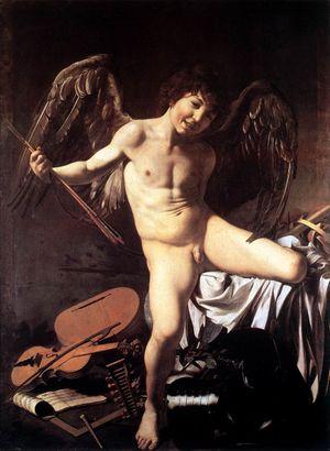 Caravage Cupidon