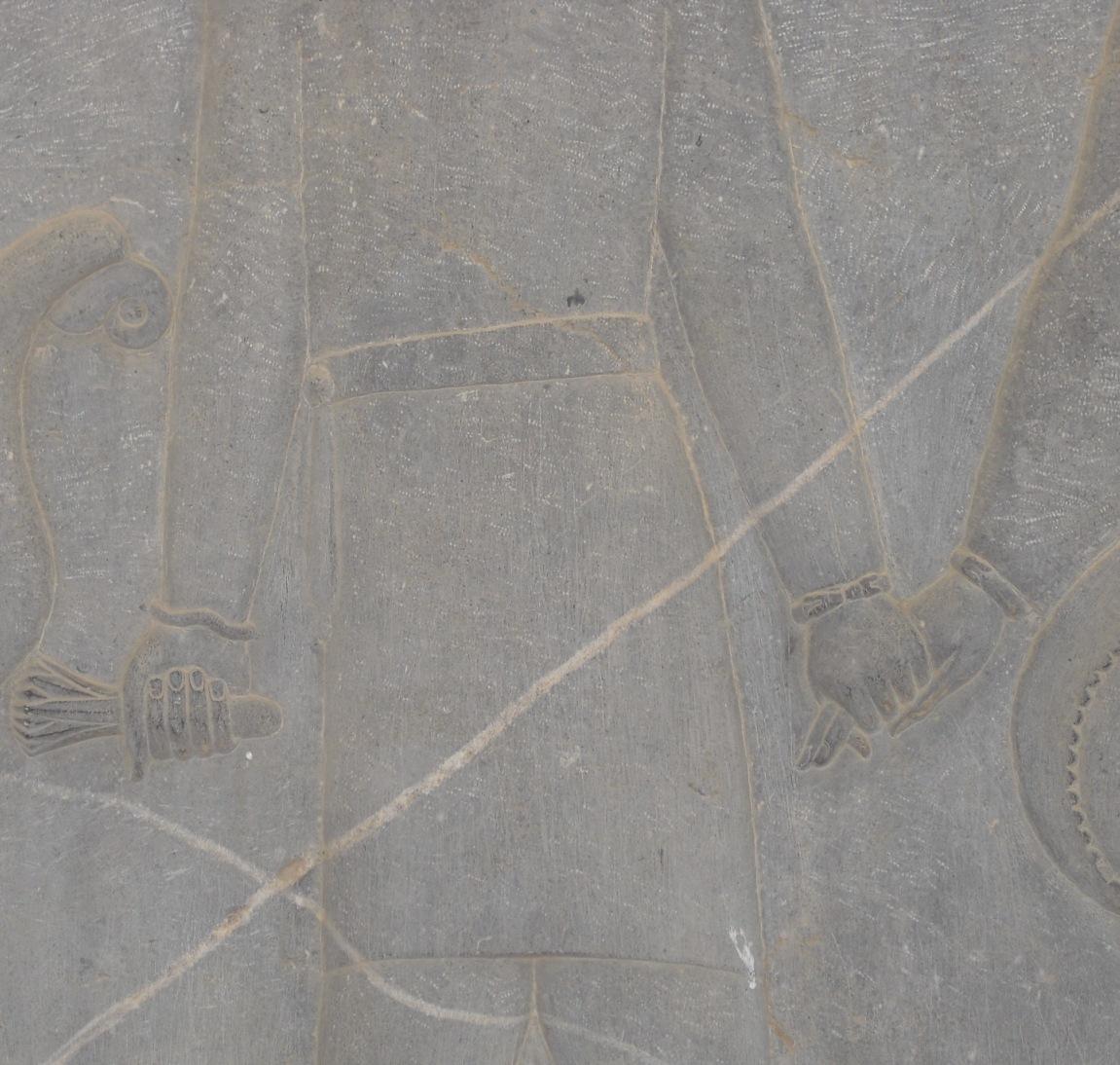 Persepolis Hände