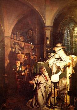 L'Alchimista - Joseph Wright