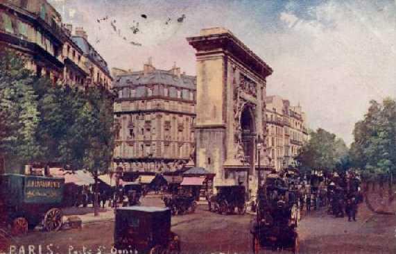 porte saint denis 1908
