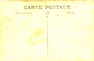 Reverso de postal
